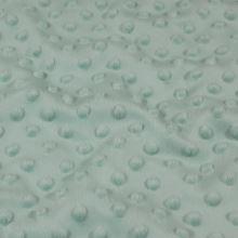 Minky šedo-zelené, pretláčané ťuplíky, š.150