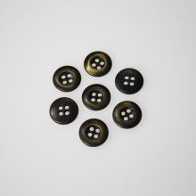 Knoflík hnědá patina K18-1, průměr 11 mm.