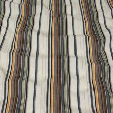 Košeľovina krémová 09167, farebný pruh š.150