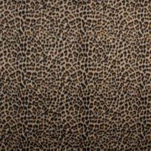 Kabátovina žlto-čierny zvierací vzor, š.150