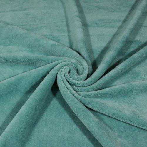 Froté mint, oboustranné, 370g/m, š.150