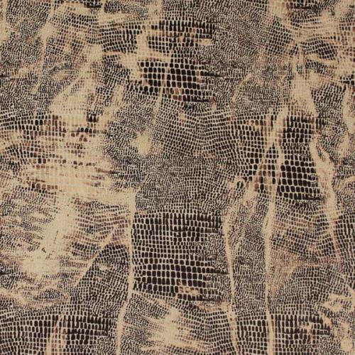 Kostýmovka béžová, zvířecí tisk, š.135