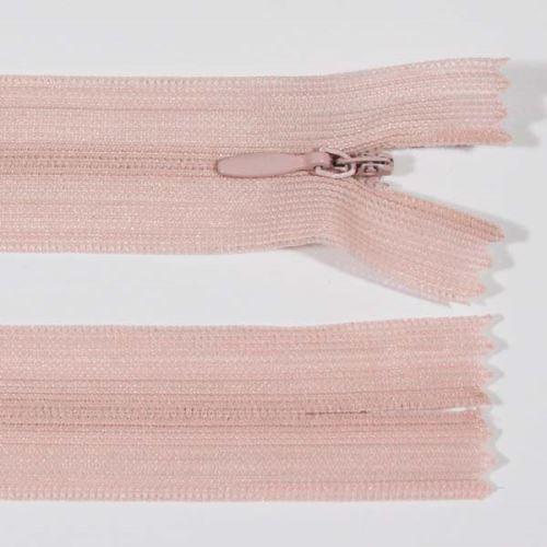 Zips skrytý šatový 3mm dĺžka 55cm, farba 367