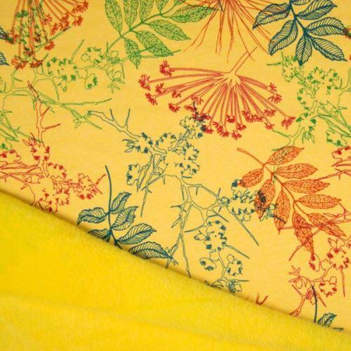 Warmkeeper žlutý, barevné listy, š.145