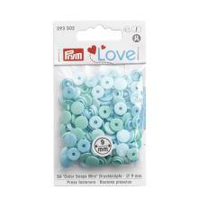 """Patentky Prym Love kulaté """"Color Snaps"""" 393502, 9 mm"""