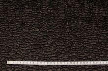 Umělá kožešina tmavě hnědý persián, š.150