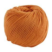 Příze NATURA MEDIUM 50g, oranžová - odstín 109