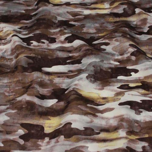 Šatovka hnědá, army vzor, š.145
