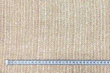 Hedvábný šifon, hnědý vzor, š.130
