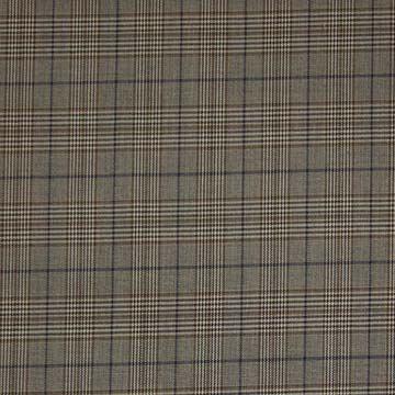 Kostýmovka hnědé káro, š.135