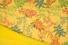 Warmkeeper žltý, farebné listy, š.145