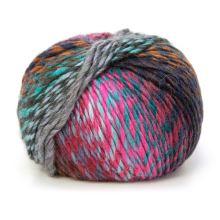 Příze SHINE 100g, barevný mix - odstín 0136