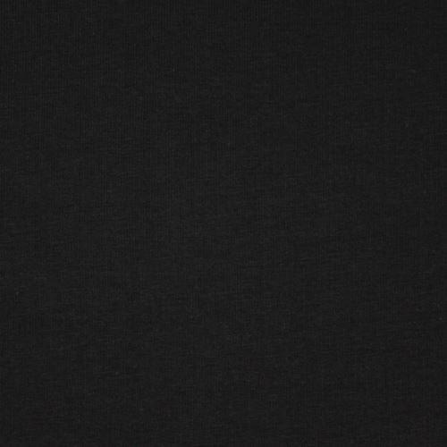 Teplákovina nepočesaná černá, š.155