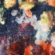 Šatovka 17145, barevné květy, š.145