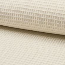 Bavlna vafle krémová, š.145