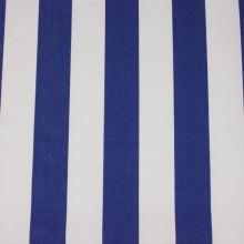 Lehátkovina modro-biely pruh, š.45