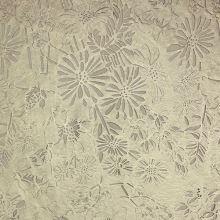 Koženka zlatá, květinový vzor s tylem, š.140