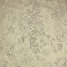 Koženka zlatá, kvetinový vzor s tylom, š.140