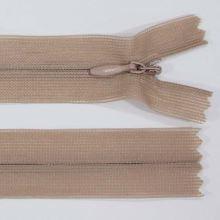 Zip skrytý šatový 3mm délka 50cm, barva 706