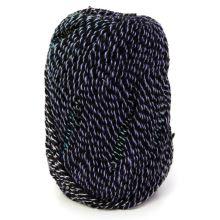 Příze SUNRISE 100g, černofialovozelená - odstín 306