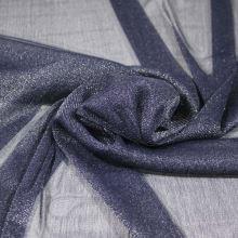 Tyl tmavě modrý, štříbrný třpyt, š.155