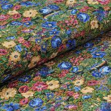 Bavlněné plátno rozkvetlá louka, š.135
