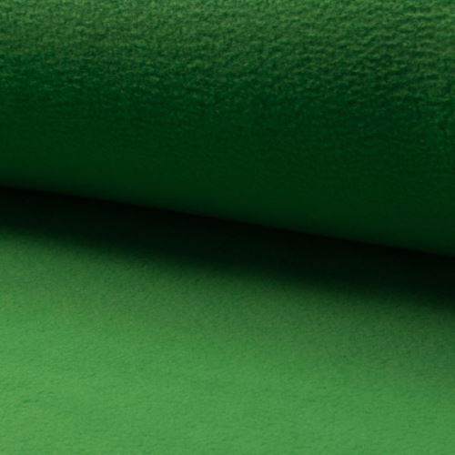 Polar fleece zelený, š.150