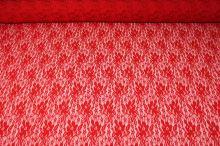 Čipka 16587 červená, š.150