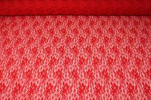 Krajka 16587 červená, š.150