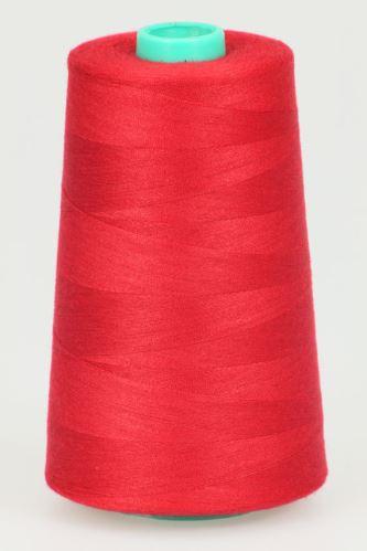 Nit KORALLI polyesterová 120, 5000Y, odstín 2535, červená