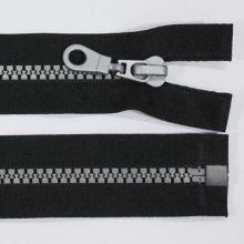 Zips kosticový 5mm dĺžka 85cm, farba 332S (deliteľný)