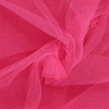 Tyl závojový růžový š.180