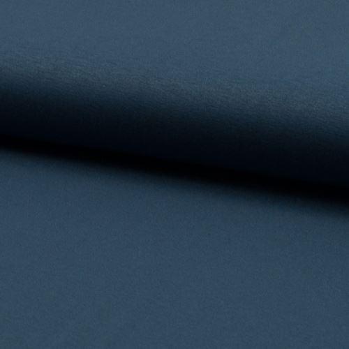 Úplet jeansovo modrý 17059, 210g/m, š.150