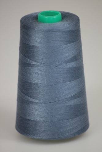 Niť KORALLI polyesterová 120, 5000, odtieň 5910, modrá-šedá