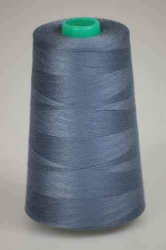 Nit KORALLI polyesterová 120, 5000Y, odstín 5910, modrá-šedá
