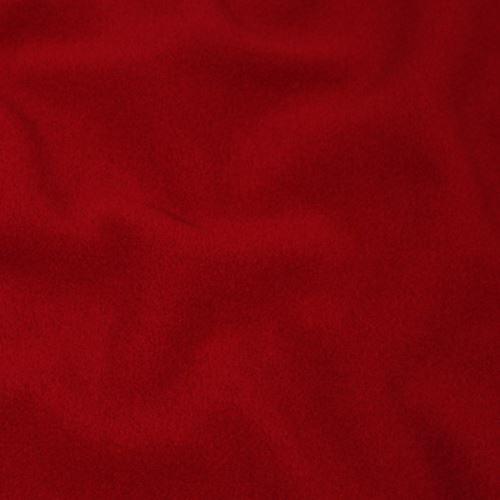 Flauš s kašmírem 17179, červený š.145