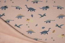 Warmkeeper pudrový, dinosauři, š.145