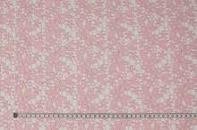 Čipka ružová, kvety a lístky, š.135