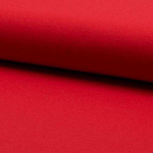 Úplet červený 16720, 220g/m, š.160