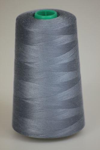 Niť KORALLI polyesterová 120, 5000Y, odtieň 5180, modrá-šedá
