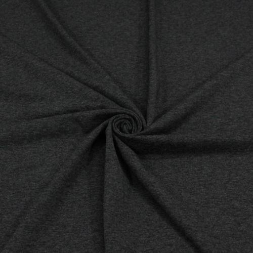 Úplet tmavosivý melé 16237, 250g/m, š.155