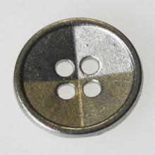 Gombík strieborný K24-7, priemer 15 mm.