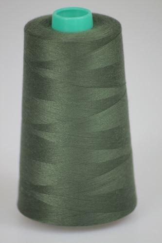 Niť KORALLI polyesterová 120, 5000Y, odtieň 6775, zelená