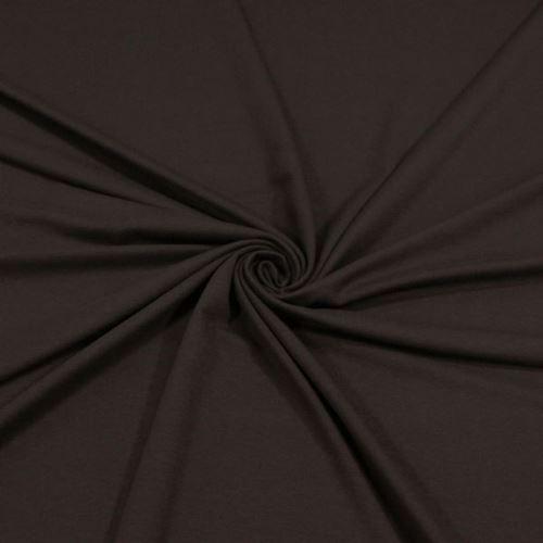 Úplet tmavě hnědý 15231, 250g/m, š.155