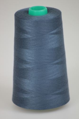 Nit KORALLI polyesterová 120, 5000Y, odstín 5930, modrá-šedá