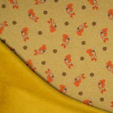 Warmkeeper žlutý, lišky, š.145
