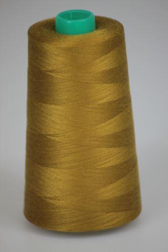 Niť KORALLI polyesterová 120, 5000Y, odtieň 1470, hnedá