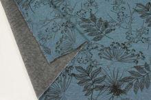 Warmkeeper modrý, listy a květy, š.145