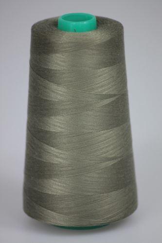 Niť KORALLI polyesterová 120, 5000Y, odtieň 6770, hnedá-šedá
