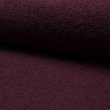 Froté bordó, bavlnené, 340g/m, š.150